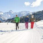 Winter hiking and snowshoeing in the Brandnertal