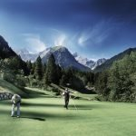 18-hole golf course - pleasant temperatures, particularly in high summer