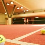 Indoor tennis courts - Two indoor tennis courts and a tennis school